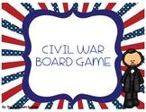 Civil War Game (File Folder Board Game)