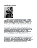 Civil War Generals Activity (With Higher Order Thinking Qu
