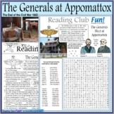 Civil War - Generals Meet at Appomattox to End War – Activity Set