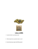 Civil War: Glory Movie Questions and Key and 54th Massachusetts primary source