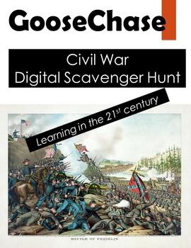 Civil War GooseChase Scavenger Hunt