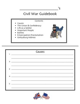 Civil War Guidebook