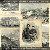Civil War: Harper's Pictorial History of the Civil War