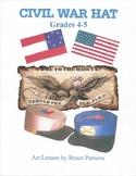 Civil War Hat: Grades 4-5