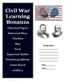 Civil War History and Research Project Activity