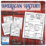Civil War Illustrated Timelines - US History