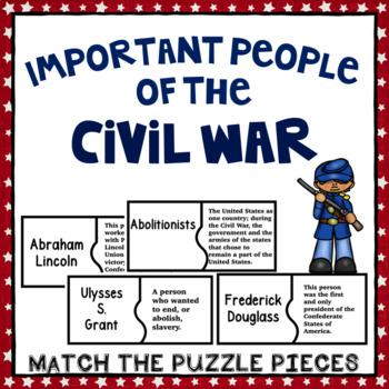 Civil War- Important People