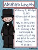 Civil War Important People Posters - set of 6