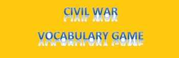 Causes of the Civil War In A Hurry Mini Unit