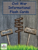 Civil War Information Flash Cards