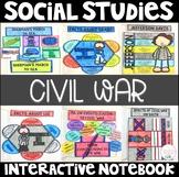 Social Studies Interactive Notebook : Civil War