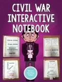 Civil War Interactive Notebook - 5th