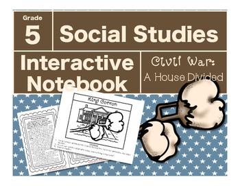 Civil War Interactive Notebook-A House Divided