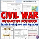 Civil War Interactive Notebook Activities