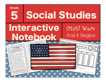 Civil War Interactive Notebook-And it Begins!
