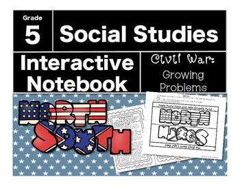 Civil War Interactive Notebook-Growing Problems