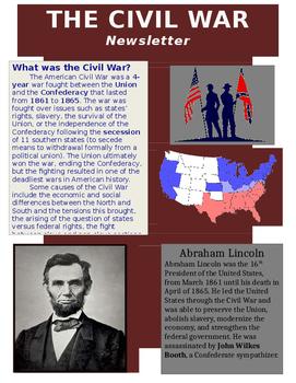 Civil War Interactive Study Guide