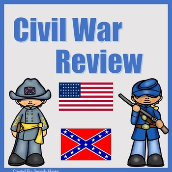 Civil War Jeopardy Style Review Game
