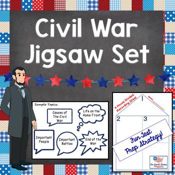Civil War Jigsaw Review Set