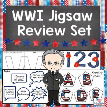 WWI Jigsaw Review Set