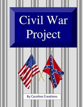Civil War Lapbook Project