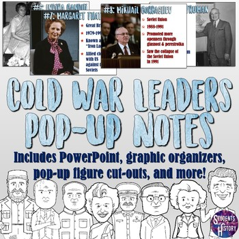 Cold War Leaders Pop Up Notes