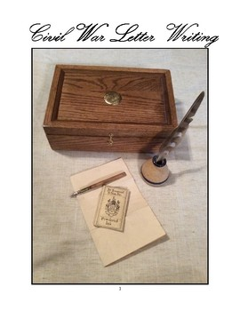 Civil War Letter Writing
