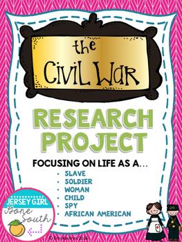 Civil War - Life During the Civil War Research Choice Boar
