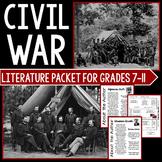 Civil War Literature Unit Student Packet