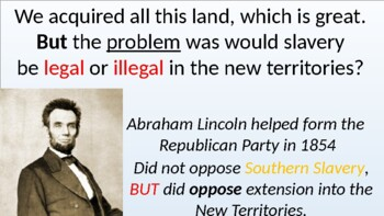 Civil War Long-Term and Immediate Causes