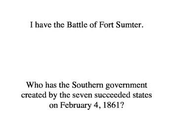 Civil War Loop Game