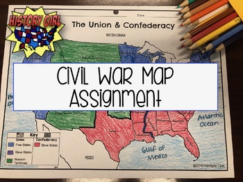 Civil War Map