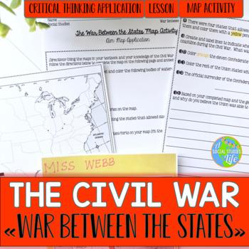 Civil War Map Activity
