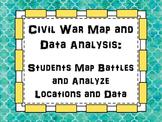 Civil War Map and Data Analysis