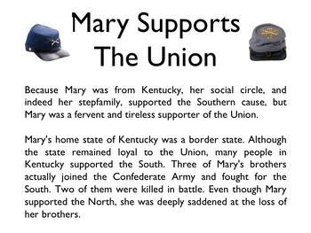 Civil War - Mary Todd Lincoln PowerPoint