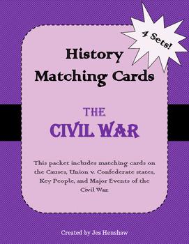 Civil War Matching Cards Review
