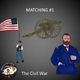Civil War Matching Questions #1