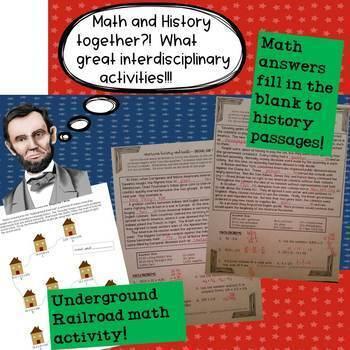 Civil War Math Activities