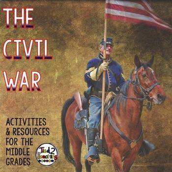 Civil War Mega Resource Pack (For the Middle Grades)