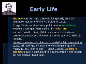 American Civil War - Key Leaders - Union - George Thomas