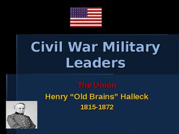 American Civil War - Key Leaders - Union - Henry Halleck