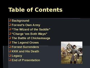 American Civil War - Key Leaders - Confederate - Nathan Bedford Forrest