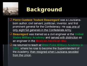 American Civil War - Key Leaders - Confederate - PGT Beauregard