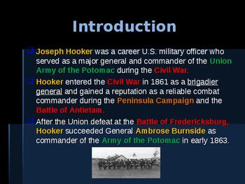 American Civil War - Key Leaders - Union - Joseph Hooker
