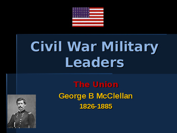 American Civil War - Key Leaders - Union - George McClellan