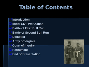 American Civil War - Key Leaders - Union - Irwin McDowell