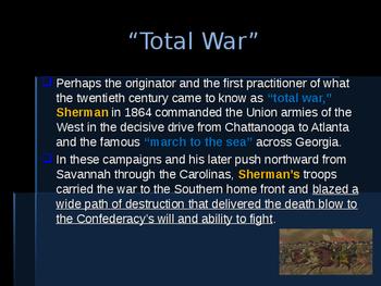 American Civil War - Key Leaders - Union - William T Sherman