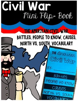 Civil War Mini Flip Book