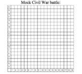 Civil War Mock Battle