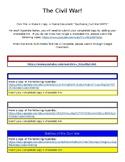 Civil War Multimedia Text Set
